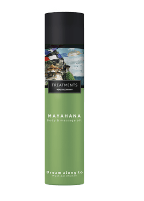 Treatments Mahayana BODY & MASSAGE OIL