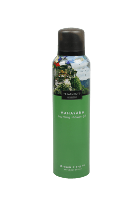 treatments mayahana foaming shower gel